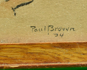 Paul Desmond Brown Polo Player