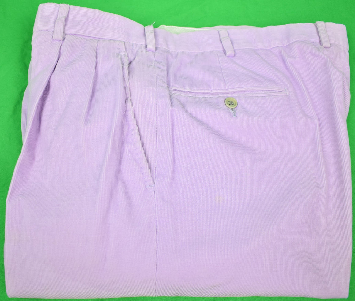 Trillion Palm Beach Pinwale Corduroy Trousers Sz 36 (SOLD!)