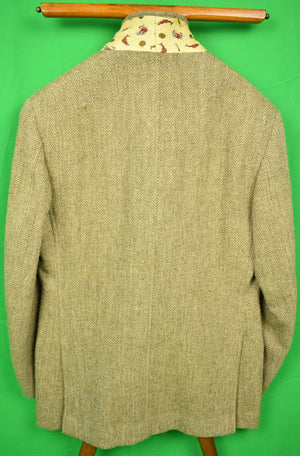 Chipp Herringbone Tweed Custom 2 Button Jacket w/ Angler's Lining!