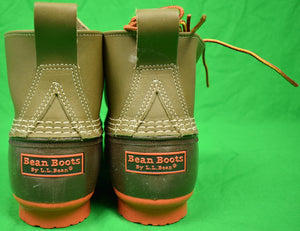 L. L. Bean Limited Edition 5 Eyelet/ Orange Sole Boots Sz 11M New/ Never Worn! (SOLD!)