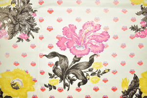 Cecil Beaton Floral Print Fabric Panel