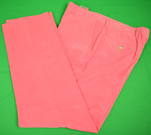 "Lilly Pulitzer Hot Pink Pinwale ""Phipps Pant"" Sz: 34""W"