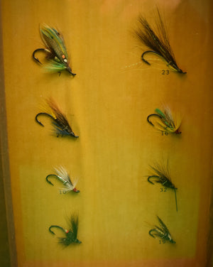 Orvis 8 Trout Fly Box Lamp w/ Hand-Carved Trout Fish Decoy Finial