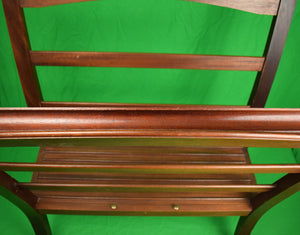 Holland & Holland English Mahogany Hydes Norfolk UK Picture Rack x 2