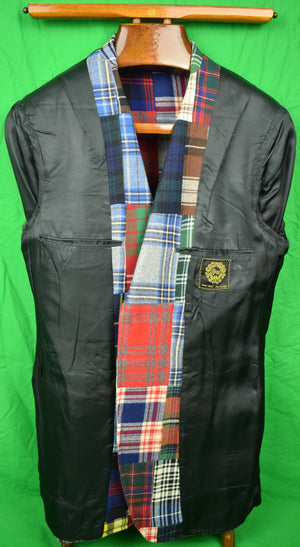 'Chipp Patch Panel Tartan Sport Jacket' Sz: 40L