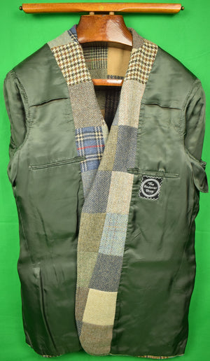 The Andover Shop Patch Panel Tweed c.1981 Sport Jacket Sz: 48L