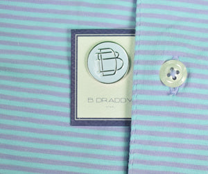 B. Draddy Purple/Blue S/S Stripe Golf Shirt Sz: XXL (New w/ Tag!)