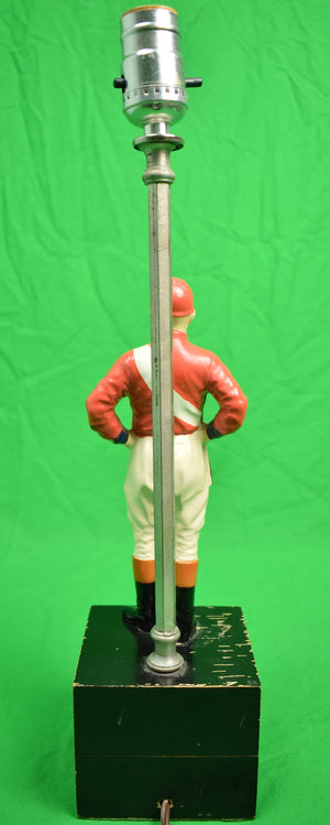 """21"" Club Custom Jockey Lamp"