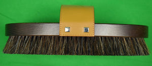 Gucci Horse Brush w/ Pair of Riding Boot Pulls