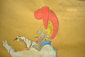 """Manual de Bardin Reglement de 1812 Officier du Carobinelle du 2d Regiment"""
