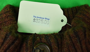The Andover Shop Royal Alpaca Rust/ Char Pullover New w/ Tags! (Sold!)