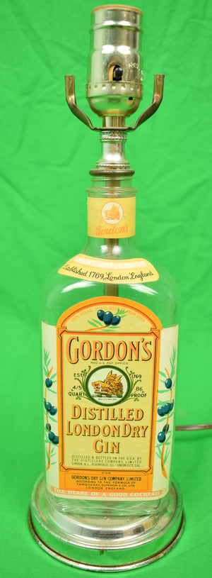 Gordon's Gin Lamp w/ Shade