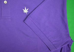 Boast Purple Polo Shirt Sz: XXL
