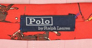 Polo Ralph Lauren Polo Player Red Silk Tie