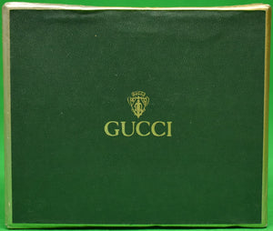 Gucci Boxed Set of 4 Playing Card Lucite Coasters