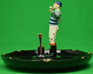 "The ""21"" Club Jockey Hall Ashtray"