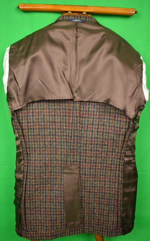J Press(idential) Houndstooth Harris Tweed Sport Jacket c.2012 Sz: 40R (SOLD!)