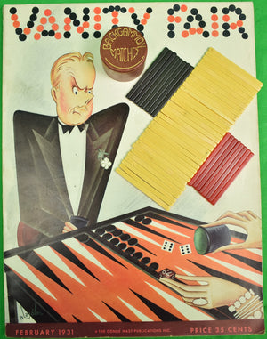 Backgammon Matches w/ 48 Bakelite Sticks c1930s