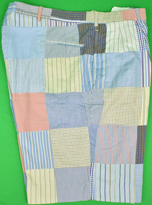 "'The Andover Shop Patch Panel Bermuda c1999 Shorts' Sz: 38""W (SOLD)"