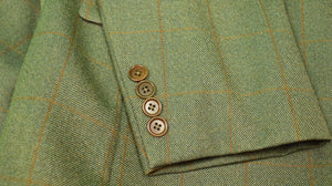 The Andover Shop Windowpane Tweed c2011 Sport Jacket Sz 46R