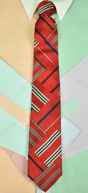 Robert Talbott 'Best Of Class' Patchwork Repp Stripe Tie