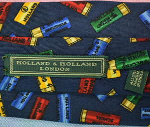 Drakes/ Holland & Holland Shot Shells Tie (Sold!)