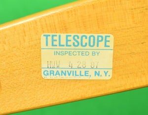 Pair of Hermes Orange Canvas Telescope Director's Chairs (New/ Old 'Deadstock'!)