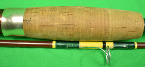 "Abercrombie & Fitch ""Bonefish"" 2 Piece Fly-Rod w/ Cork Handle In Tubular Case"