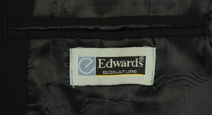 "The ""21"" Club Sommelier's Black Blazer/ Uniform w/ Jockey Logo Crest Sz: 42R"