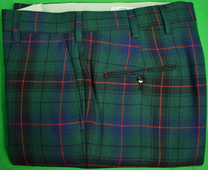 "Chipp Tartan Plaid Trousers Sz: 35""W as New (Sold!)"