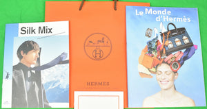 Le Monde d'Hermes/ Silk Mix Ties and Scarves/ Histoires de Carres Autumn-Winter 2019
