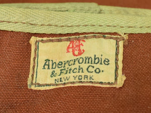 Abercrombie & Fitch c1940s Fly-Rod Canvas Carrier