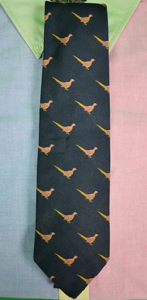 Drakes For Paul Stuart Pheasant Club Tie