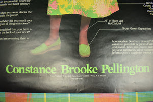 """Are You a Preppette?"" Constance Brooke Pellington Color Poster"