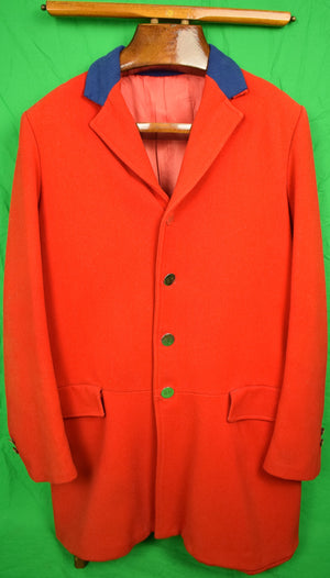 English Scarlet RH Twill Hunting Coat