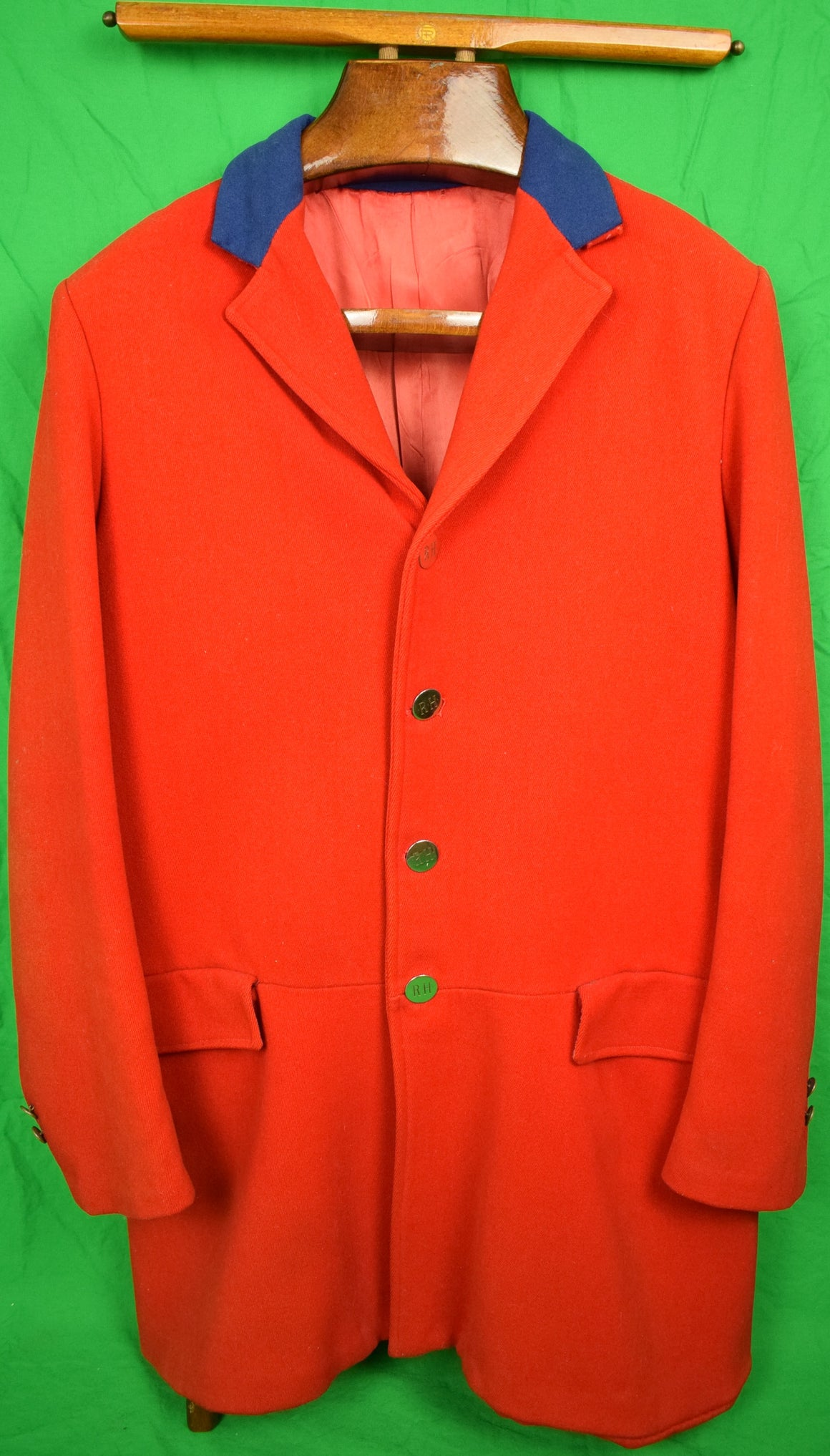 'English Scarlet RH Twill Hunting Coat'