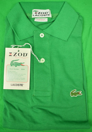Izod Lacoste Green Polo Shirt Sz: Patron New w/ Tag!