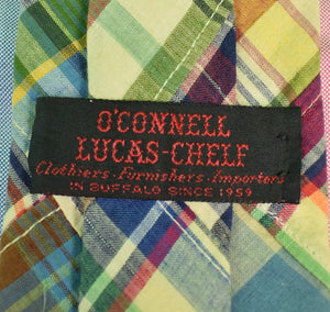 O'Connell's Patch Madras Tie