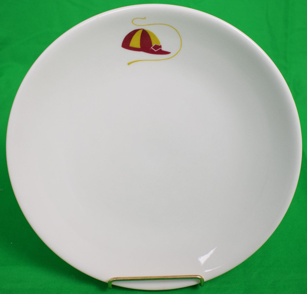 Set of 5 Lamberton China Jockey Cap Plates
