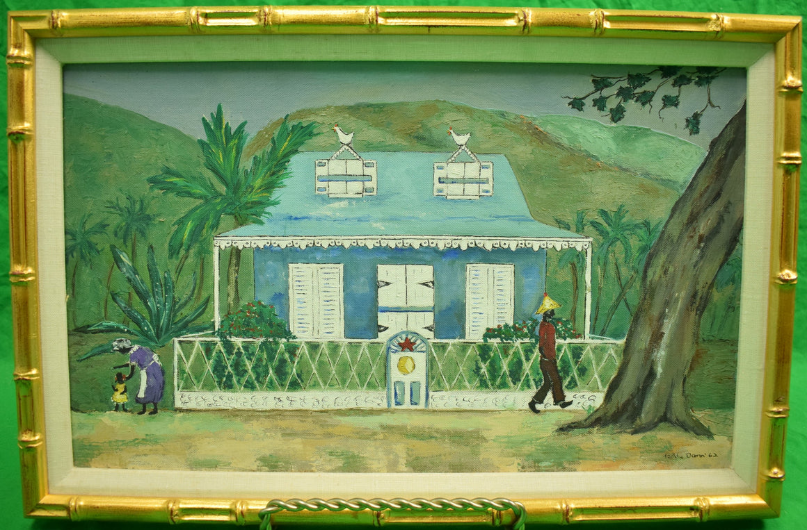 "Dominica Cottage 1962 by Marion ""Taddy"" Dann (b.1929-)"