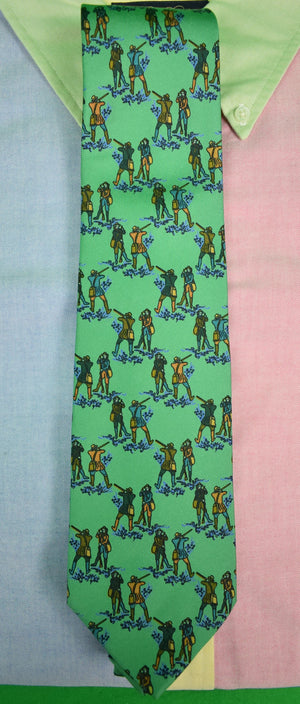 Drakes/ Holland & Holland Huntsman Shooting Tie