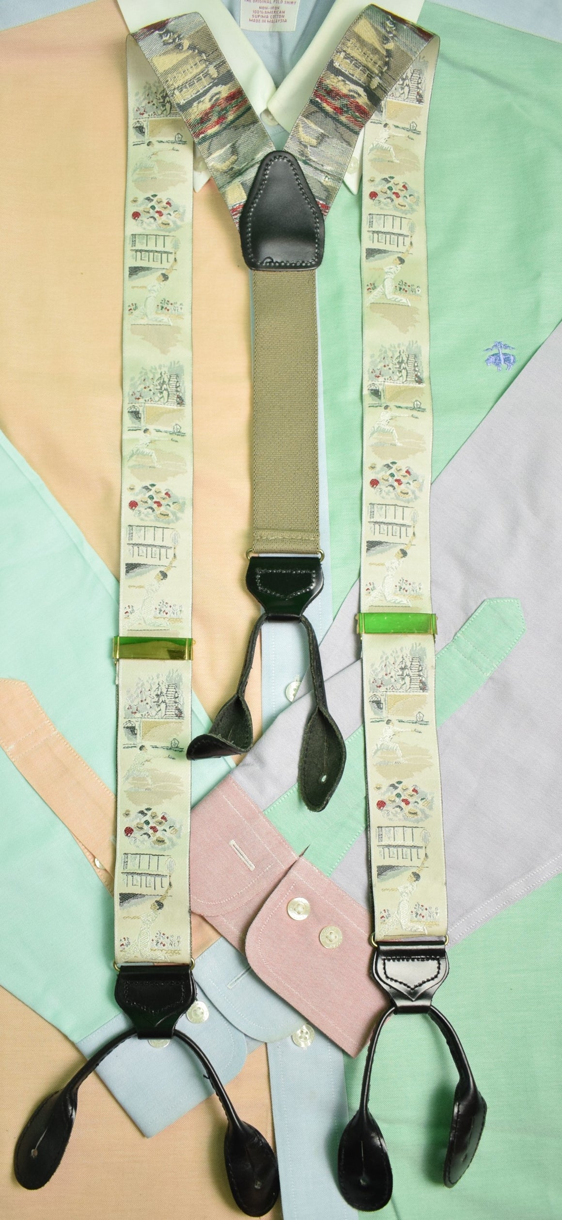 Tennis Player English Silk Braces