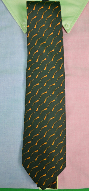 """Drakes x Holland & Holland Shooting Rifle Silk Tie"" (SOLD)"
