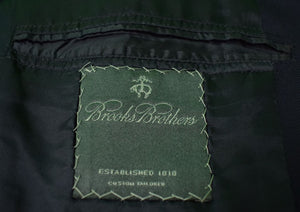 Brooks Brothers 2001 Custom Tailored Navy Blazer w/ Racquet & Tennis Club Buttons Sz: 44R (Sold!)