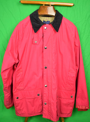 J. McLaughlin Red Hunting Coat Sz: LG