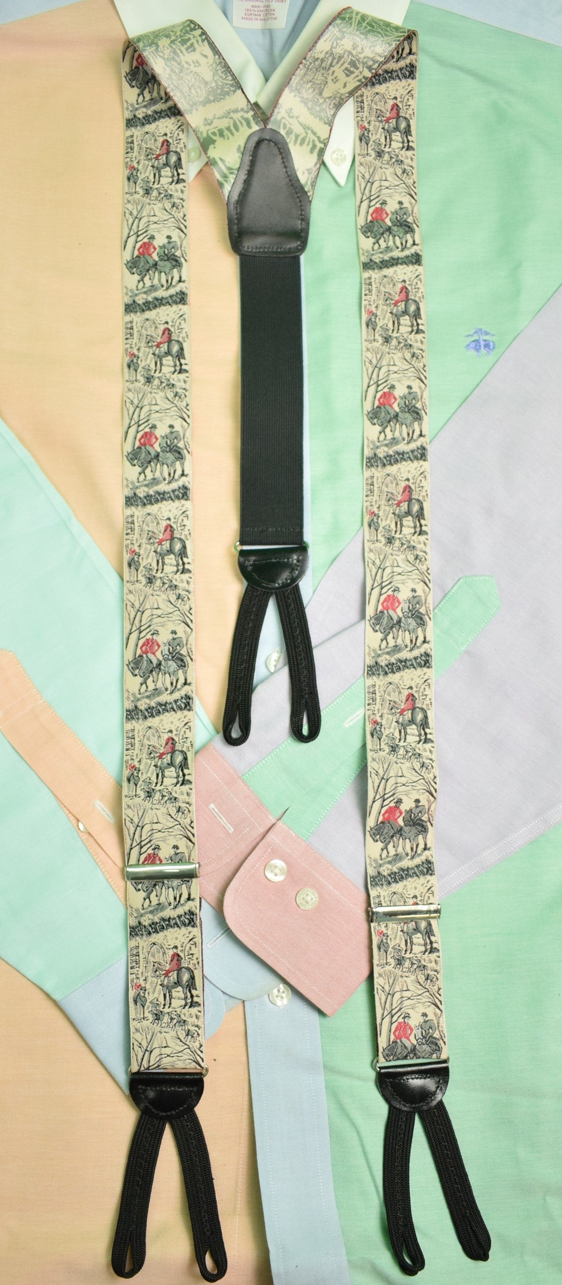 Fox-Hunter Silk Braces