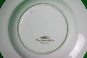 New York Yacht Club Spode Copelands English China Soup Bowl