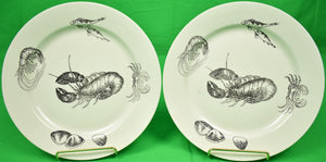 "Pair of Lobster 9""D Plates"