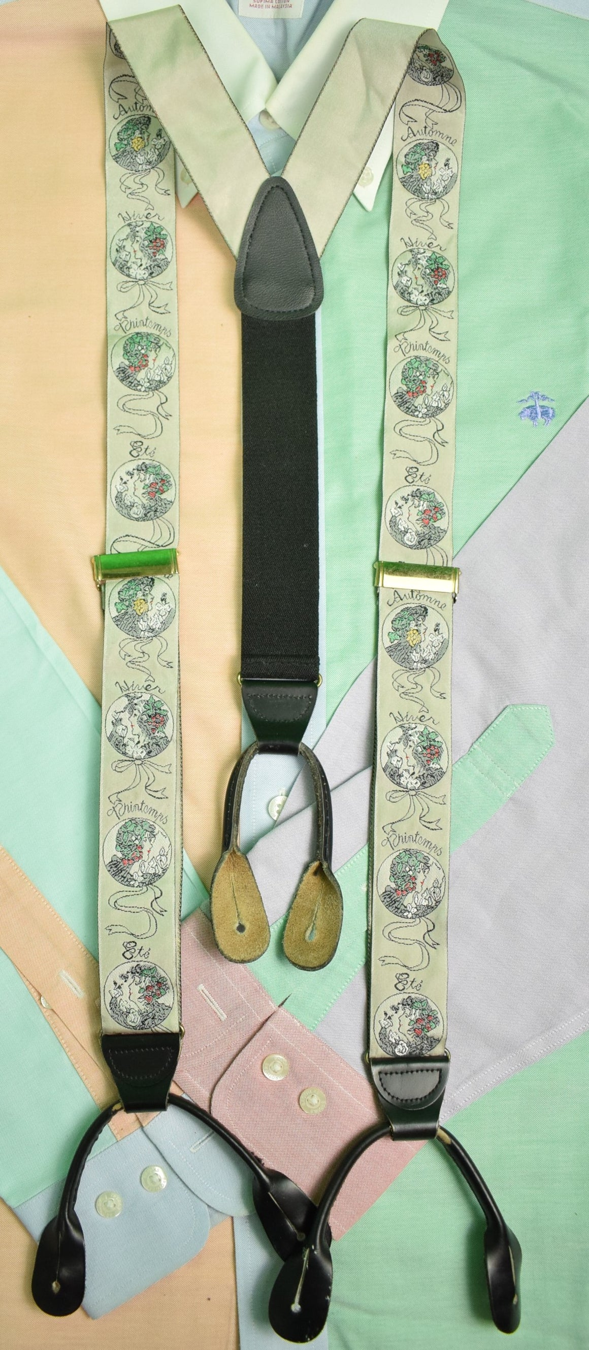 Printemps Ladies Portrait Braces Made In England