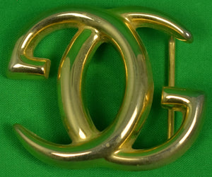 Gucci of Italy Brass Belt Buckle